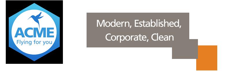 Modern, Established, Corporate, Clean